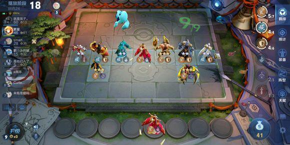 王者模拟战长安科技流阵容玩法攻略