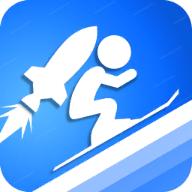 火箭滑雪比赛
